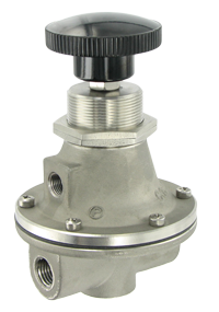 GH10 Series (303 Stainless Steel Internals) Manual Loading Regulator