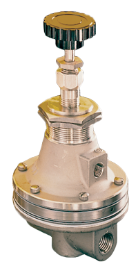 GH20VT Series (316 Stainless Steel) Vacuum Service Regulator